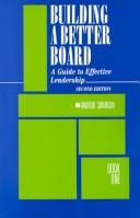 Cover of: Building a better board | Andrew Swanson