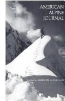Cover of: American Alpine Journal, 1973