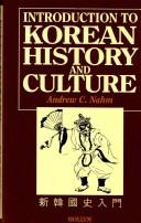 Cover of: Introduction to Korean History & Culture