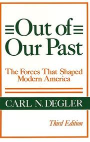 Out of Our Past (Harper Torchbooks)