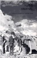 Cover of: American Alpine Journal, 1975