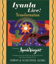 Cover of: Iyanla Live Volume 7 Transformation (Iyanla Live!) | Iyanla Vanzant