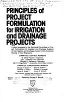Cover of: Principles of Project Formulation for Irrigation and Drainage Projects