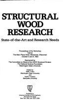 Cover of: Structural Wood Research