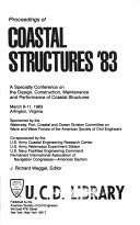 Cover of: Proceedings of Coastal Structures '83