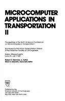 Cover of: Microcomputers Applications in Transportation II