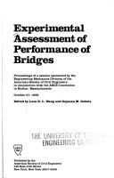 Cover of: Experimental Assessment of Performance of Bridges