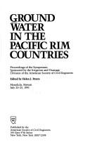 Cover of: Ground Water in the Pacific Rim Countries