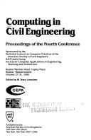 Cover of: Computing in Civil Engineering