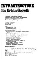Cover of: Infrastructure for Urban Growth