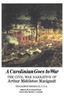 Cover of: A Carolinian goes to war