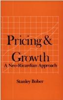 Cover of: Pricing & growth