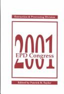Cover of: Epd Congress 2001