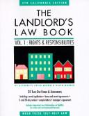 Cover of: The Landlord's Law Book: Rights and Responsibilities