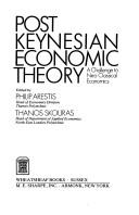 Cover of: Post Keynesian Economic Theory