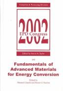 Cover of: Epd Congress 2002