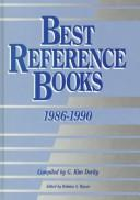 Cover of: Best reference books, 1986-1990