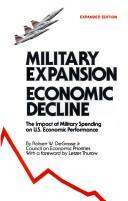 Cover of: Military Expansion, Economic Decline