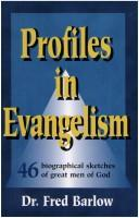 Cover of: Profiles in Evangelism
