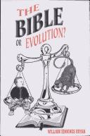 Cover of: The Bible or Evolution?