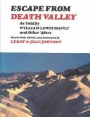 Cover of: Escape from Death Valley