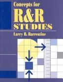 Cover of: Concepts for R&R studies | Larry B. Barrentine