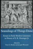 Cover of: Soundings of Things Done |