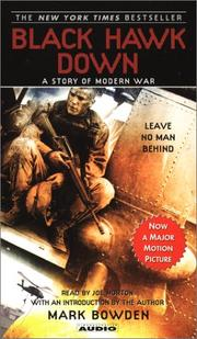 Cover of: Black Hawk Down MTI