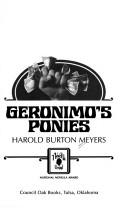 Cover of: Geronimo's ponies