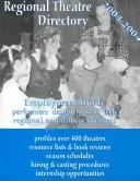 Cover of: Regional Theatre Directory 2003-2004 |