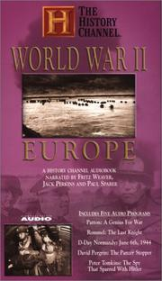 Cover of: World War II: Europe | first middle The History Channel