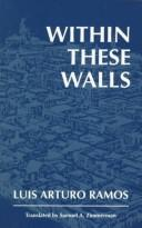 Cover of: Within these walls