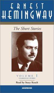 Cover of: The Short Stories Volume I