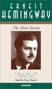 Cover of: The Short Stories Volume II