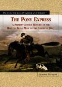 Cover of: The Pony Express | Simone Payment