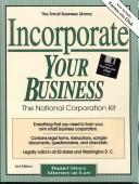 Cover of: Incorporate Your Business