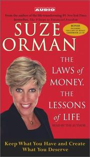 Cover of: The Laws of Money, The Lessons of Life |