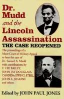 Cover of: Dr. Mudd and the Lincoln Assassination