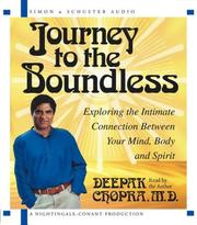Cover of: Journey to the Boundless: Exploring the Intimate Connection Between Your Mind, Body and Spirit
