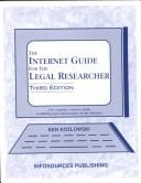Cover of: The Internet Guide for the Legal Researcher