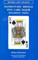 Cover of: Elementary Bridge Five Card Major Student Text