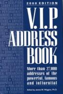Cover of: V.I.P. Address Book 2000 (VIP Address Book)