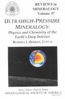 Cover of: Ultrhigh-Pressure Mineralogy