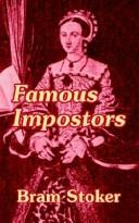 Cover of: Famous impostors