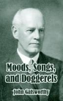 Cover of: Moods, songs, and doggerels