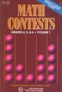 Cover of: Math Contests-Grades 4, 5, and 6: School Years