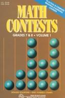 Cover of: Math Contests - Grades Seventh and Eighth: School Years