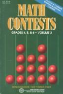 Cover of: Math contests for grades 4, 5, and 6