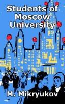 Cover of: Students of Moscow University