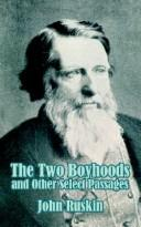 Cover of: The two boyhoods and other select passages